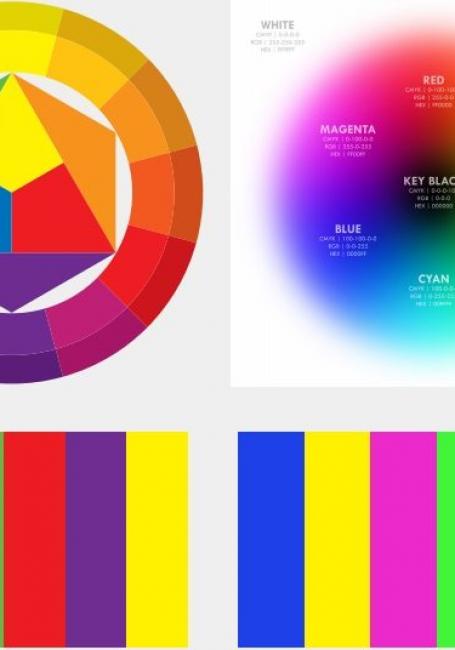 Tư duy màu sắc trong thiết kế đồ họa in ấn
