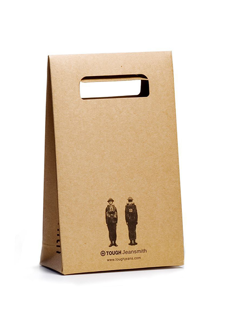 Mẫu in túi giấy quảng cáo đơn giản