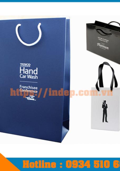 Xưởng in túi giấy cho shop thời trang giúp tạo ấn tượng tới khách hàng