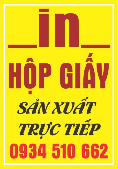 In Vỏ Hộp Số Lượng Ít Tại Nam Định