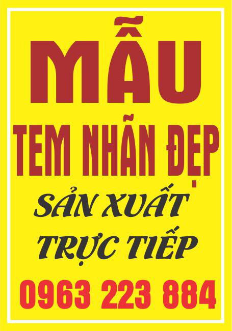 Mẫu Nhãn Mác Dán Chai Tinh Dầu