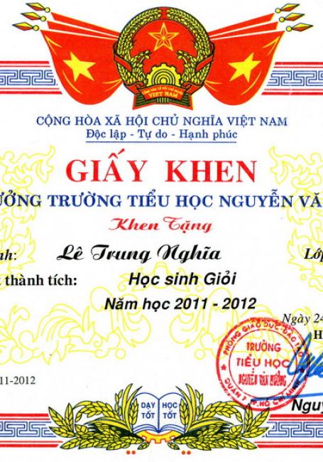 Xưởng in giấy khen chứng chỉ hàng đầu Hà Nội