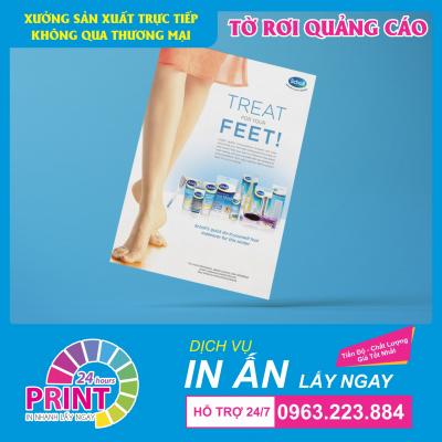 Dịch vụ in tờ rơi lấy gấp, lấy ngay trong ngày tại Hà Nội