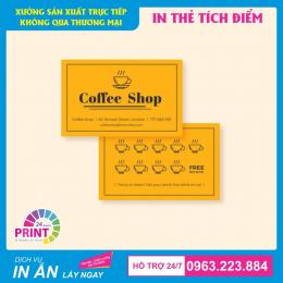 Hướng dẫn cách thiết kế và đặt in ấn thẻ tích điểm chuẩn nhất