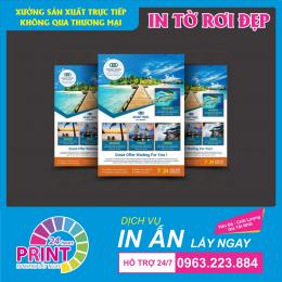 Top 7 mẹo để có  một tờ rơi được thiết kế và in ấn mang lại hiệu quả trong chiến dịch quảng cáo