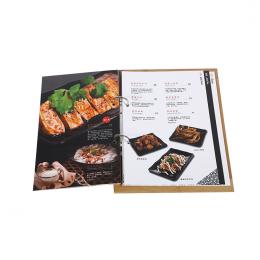 Sử dụng thiết kế menu đẹp để quảng cáo dịch vụ của bạn