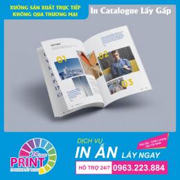 Tìm hiểu dịch vụ in Catalogue nhanh, lấy ngay