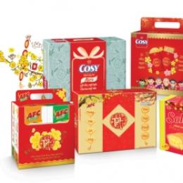 Mẫu bao bì giấy đựng các sản phẩm làm quà tặng như đồng hồ, ấm chén, bát đĩa, bình giữ nhiệt