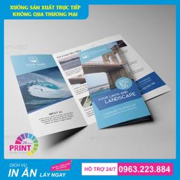 In Brochure theo yêu cầu với mức giá cực kỳ hấp dẫn