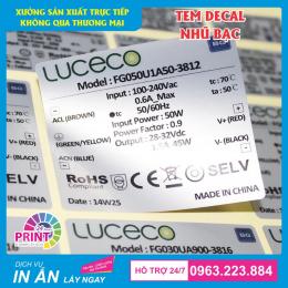 Dịch vụ gia công cắt bế demi tem nhãn Decal chất lượng, giá rẻ tại Hà Nội