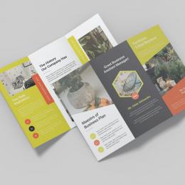 10 mẫu Brochure nội thất được sử dụng phổ biến