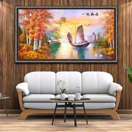 """In tranh canvas lấy liền sắc nét– tuyệt chiêu """"thổi bùng sức sống"""" cho không gian ngôi nhà"""