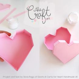 Hướng dẫn cách gấp hộp trái tim Origami