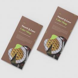 10 mẫu thiết kế brochure cho các cửa hàng bánh mà bạn nên biết