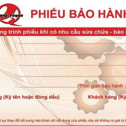 Top Mẫu Phiếu Bảo Hành File Word Chuyên Nghiệp 2021